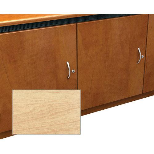 Middle Atlantic Contemporary-Style Finishing Kit for 1-Bay Credenza Rack (Maple)