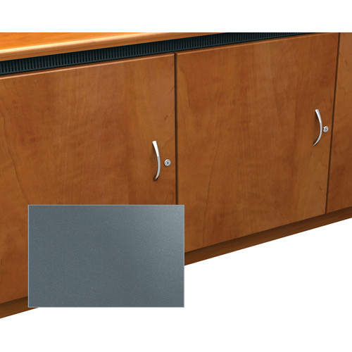 Middle Atlantic Contemporary-Style Finishing Kit for 1-Bay Credenza Rack (Shark Grey)