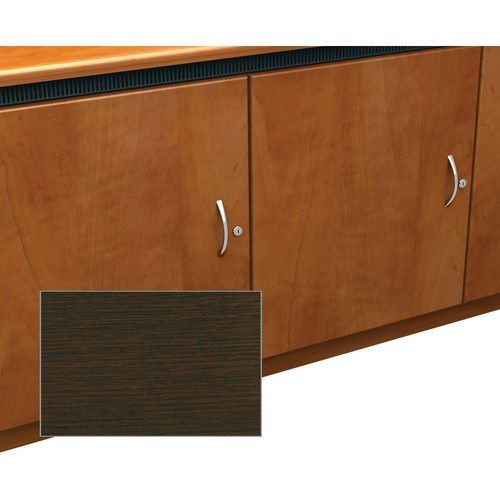Middle Atlantic Contemporary-Style Finishing Kit for 1-Bay Credenza Rack (Wenge)