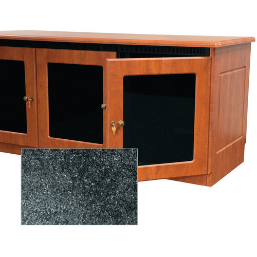 Middle Atlantic Traditional-Style Finishing Kit for 1-Bay Credenza Rack (Darkstone)