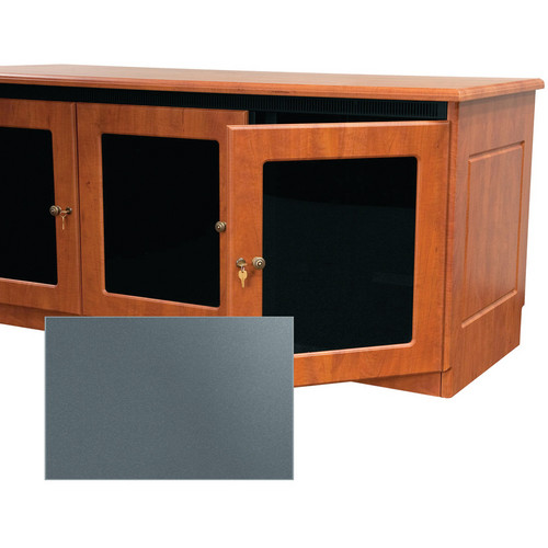Middle Atlantic Traditional-Style Finishing Kit for 1-Bay Credenza Rack (Shark Gray)