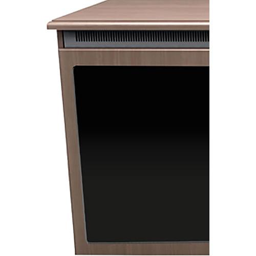 """Middle Atlantic C5 1-Bay Klasik Veneer Wood Kit with Plexi Doors (27 x 32"""")"""