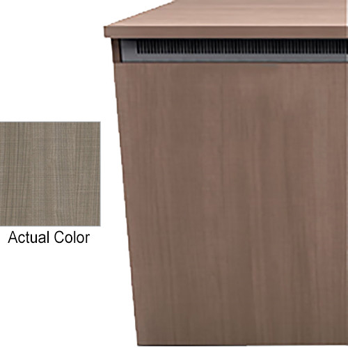 "Middle Atlantic Wood Kit with Locks & Handles for C5-FF27-1 C5-Series 1-Bay 27""-Deep Credenza Frame (5th Ave Elm HPL Finish)"