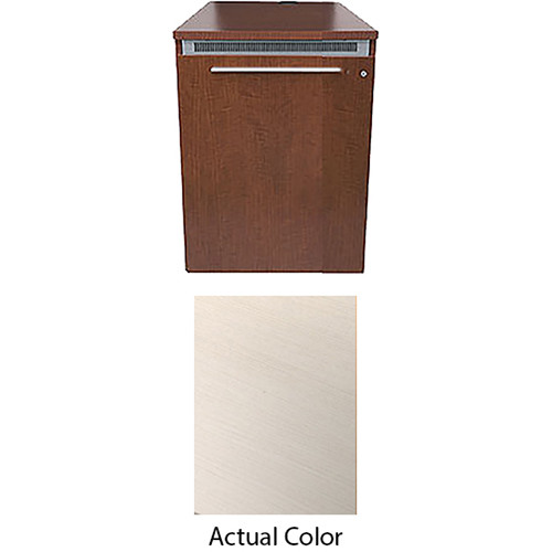 Middle Atlantic High-Pressure Laminate Wood Kit for C5-FF27-1 Credenza Frame (White Ash)