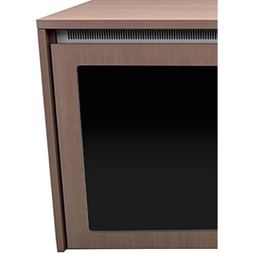 "Middle Atlantic C5 1-Bay Moderno Veneer Wood Kit with Plexi Doors (31 x 32"")"