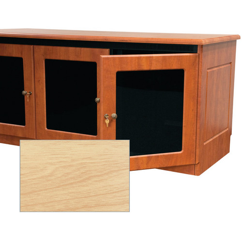 Middle Atlantic Contemporary-Style Finishing Kit for 2-Bay Credenza Rack (Maple)