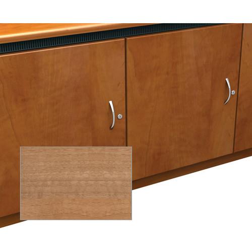 Middle Atlantic Contemporary-Style Finishing Kit for 2-Bay Credenza Rack (Light Walnut)