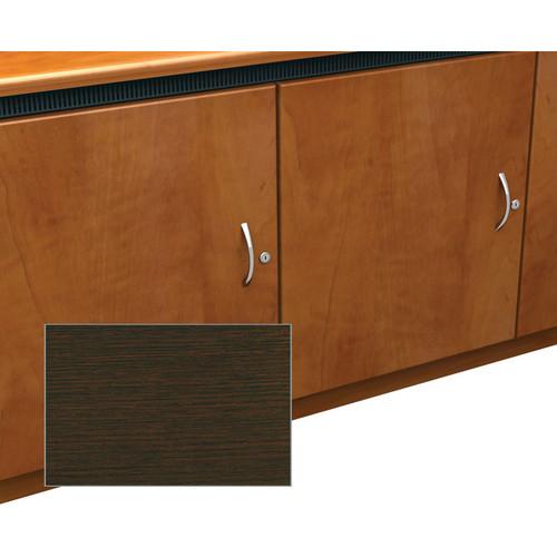 Middle Atlantic Contemporary-Style Finishing Kit for 2-Bay Credenza Rack (Wenge)