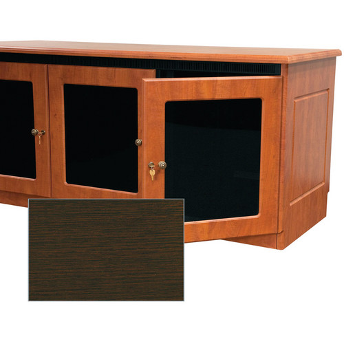 Middle Atlantic Contemporary-Style Finishing Kit for 2-Bay Credenza Rack (Ebony Ash)