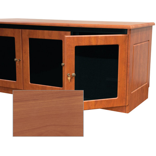 Middle Atlantic Contemporary-Style Finishing Kit for 2-Bay Credenza Rack (Honey Maple)