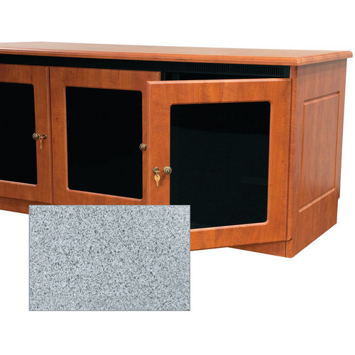 Middle Atlantic Contemporary-Style Finishing Kit for 2-Bay Credenza Rack (Pepperstone)
