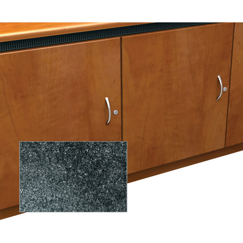 Middle Atlantic Contemporary-Style Finishing Kit for 2-Bay Credenza Rack (Darkstone)