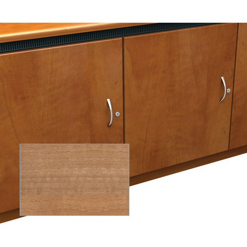 Middle Atlantic Contemporary-Style Finishing Kit for 2-Bay Credenza Rack (Light Walnut)