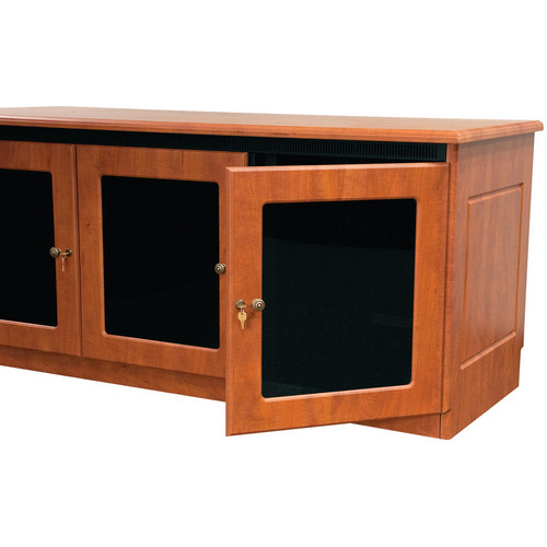 Middle Atlantic Traditional-Style Finishing Kit for 2-Bay Credenza Rack (Aged Cherry)