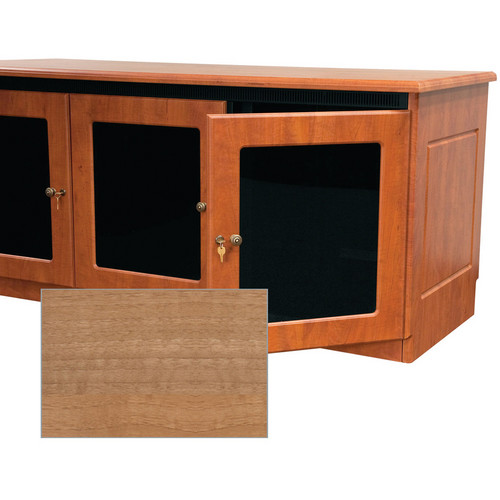 Middle Atlantic Traditional-Style Finishing Kit for 2-Bay Credenza Rack (Light Walnut)