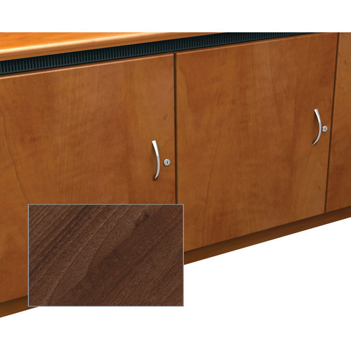 Middle Atlantic Traditional-Style Finishing Kit for 2-Bay Credenza Rack (Dark Pecan)
