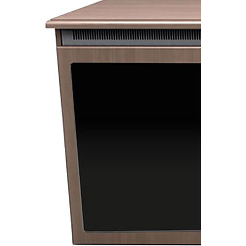 "Middle Atlantic C5 2-Bay Klasik Thermolaminate Wood Kit with Plexi Doors (27 x 32"")"