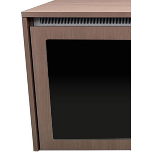 "Middle Atlantic C5 2-Bay Moderno Veneer Wood Kit with Plexi Doors (27 x 32"")"