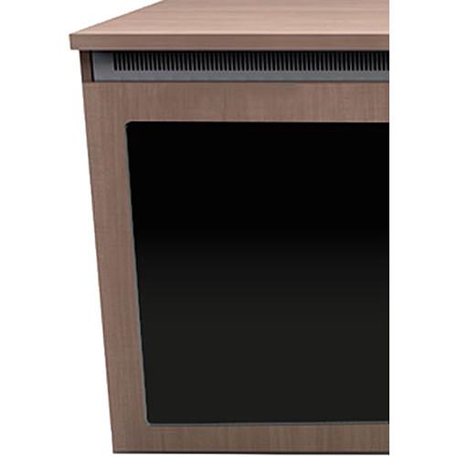 "Middle Atlantic C5 2-Bay Sota HPL Wood Kit with Plexi Doors (27 x 32"")"