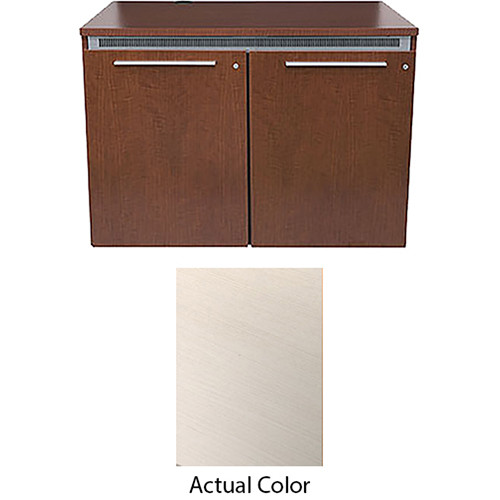 Middle Atlantic High-Pressure Laminate Wood Kit for C5-FF27-2 Credenza Frame (White Ash)