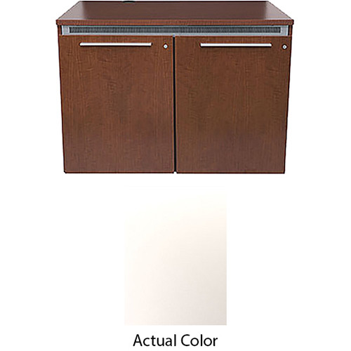 Middle Atlantic High-Pressure Laminate Wood Kit for C5-FF31-2 Credenza Frame (Brite White)