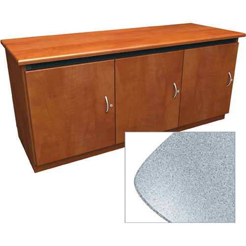Middle Atlantic Contemporary-Style Finishing Kit for 3-Bay Credenza Rack (Pepperstone)