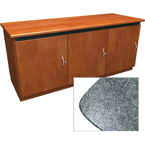 Middle Atlantic Contemporary-Style Finishing Kit for Deep Credenza Rack (Graystone)