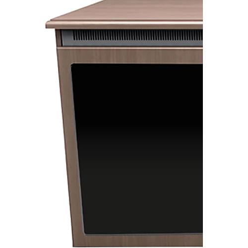 """Middle Atlantic C5 3-Bay Klasik Veneer Wood Kit with Plexi Doors (27 x 32"""")"""