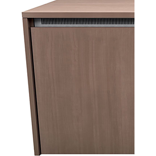 "Middle Atlantic C5 3-Bay Moderno HPL Wood Kit (27 x 32"")"