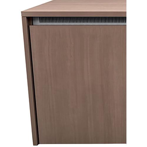 "Middle Atlantic C5 3-Bay Moderno Thermolaminate Wood Kit (27 x 32"")"