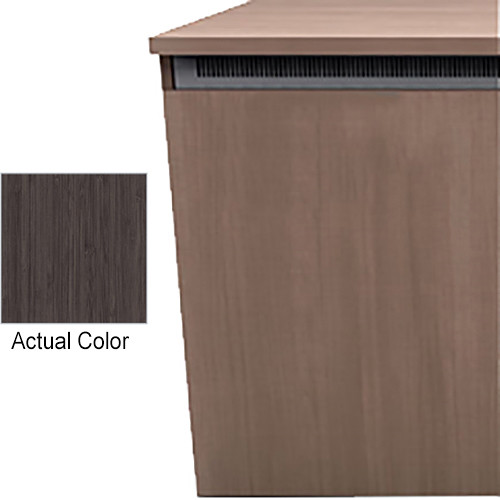 "Middle Atlantic Wood Kit with Locks & Handles for C5-FF27-3 C5-Series 3-Bay 27""-Deep Credenza Frame (Asian Night HPL Finish)"