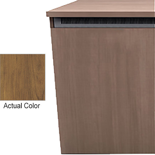 "Middle Atlantic Wood Kit with Locks & Handles for C5-FF27-3 C5-Series 3-Bay 27""-Deep Credenza Frame (Glamour Cherry HPL Finish)"