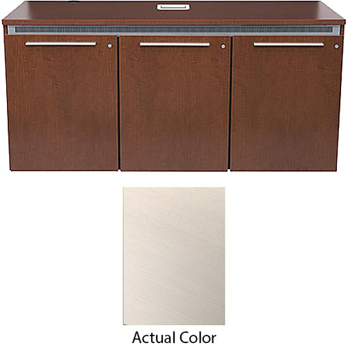Middle Atlantic High-Pressure Laminate Wood Kit for C5-FF27-3 Credenza Frame (White Ash)
