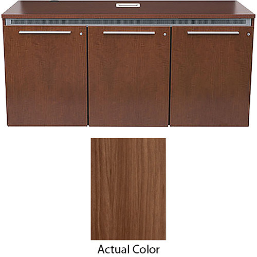 Middle Atlantic Thermolaminate Wood Kit with Lock & Handles for C5-FF27-3 Credenza Frame (Sienna)