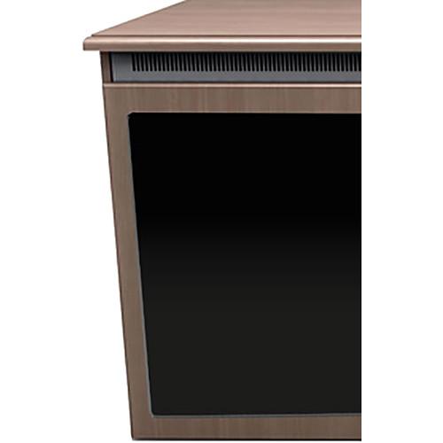 """Middle Atlantic C5 3-Bay Klasik Veneer Wood Kit with Plexi Doors (31 x 32"""")"""