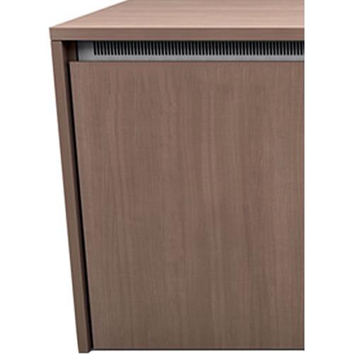 "Middle Atlantic C5 3-Bay Moderno HPL Wood Kit (31 x 32"")"