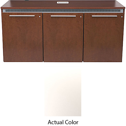 Middle Atlantic High-Pressure Laminate Wood Kit for C5-FF31-3 Credenza Frame (Brite White)