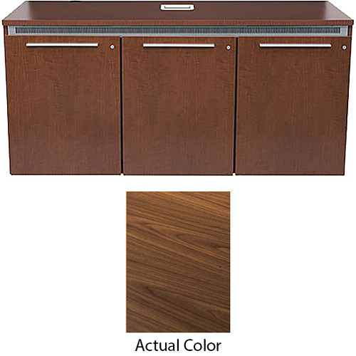 Middle Atlantic High-Pressure Laminate Wood Kit for C5-FF31-3 Credenza Frame (Montana Walnut)