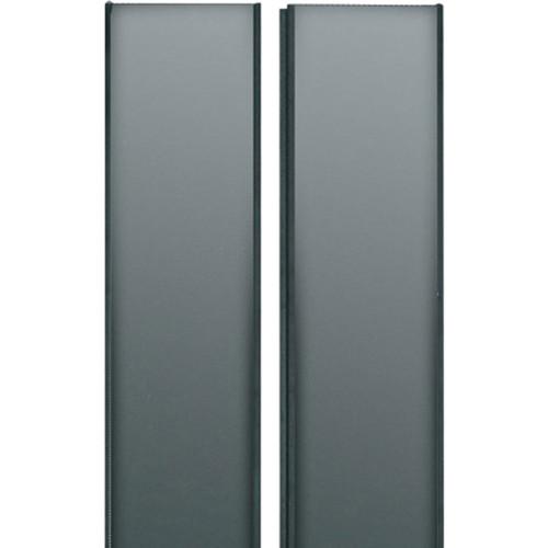 Middle Atlantic Split Solid Rear Door for Equipment Rack (24 RU)
