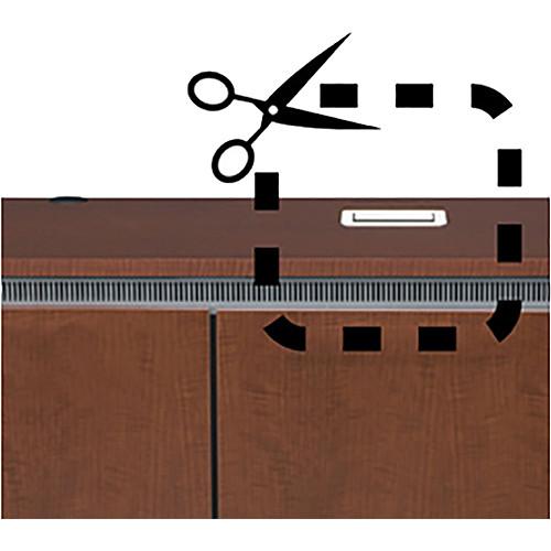 Middle Atlantic Table Box Cutout for Crestron FlipTop Large Power Center