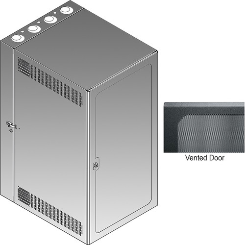 Middle Atlantic CWR Series 18-22VD Cabling Wall Mount Rack with Vented Front Door