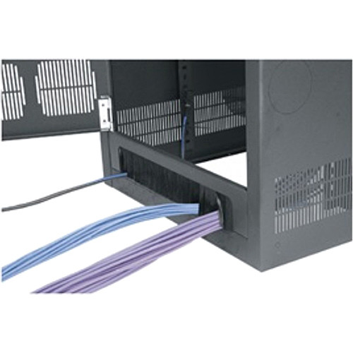 Middle Atlantic Cable-Entry Rear Door for ERK Equipment Rack (18 RU)