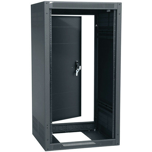 "Middle Atlantic ERK Series ERK-1828 18RU 22"" Wide Standalone Floor-Standing Enclosure with Rear Door"
