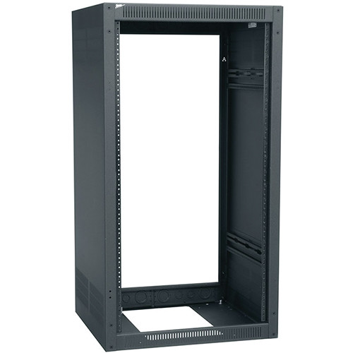 "Middle Atlantic ERK Series ERK-4028LRD 40RU 22"" Wide Standalone Floor-Standing Enclosure (No Rear Door)"