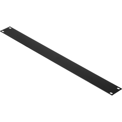 Middle Atlantic Essex Blank Panels (1U, Flat Black, 2-Pack)