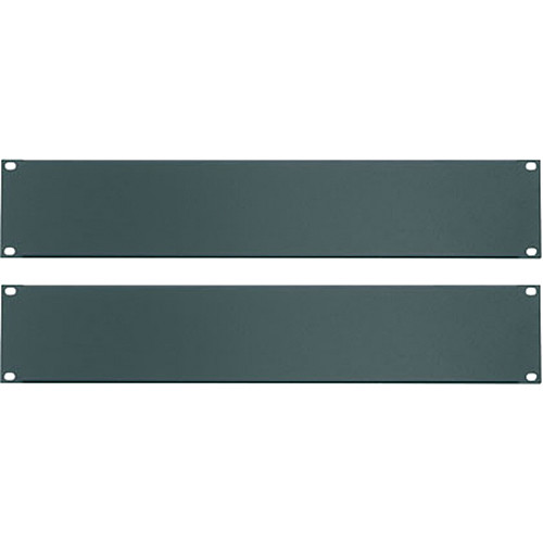 Middle Atlantic Essex Blank Panels (2U, Flat Black, 2-Pack)