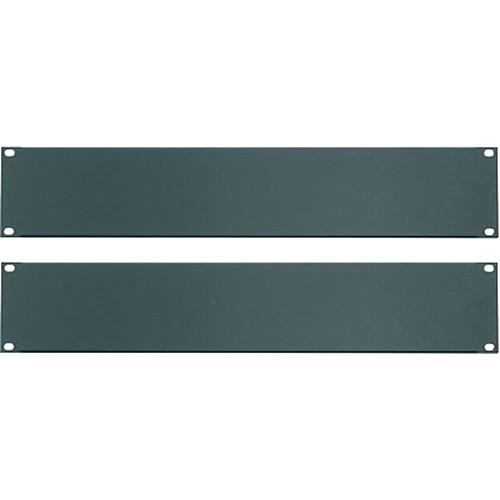 Middle Atlantic Essex Blank Panels (2U, Flat Black, 2-Pack)