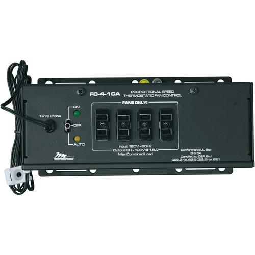Middle Atlantic FC-4-1CA Thermostatic Fan Control