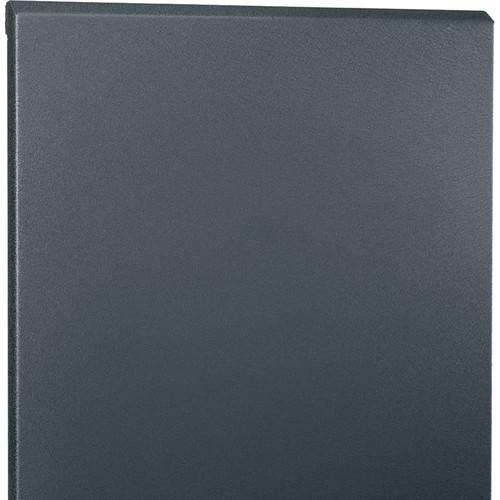 """Middle Atlantic Solid Front Door for 28"""" Wide, 46-RU SR Series Rack (Black)"""