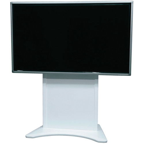 Middle Atlantic FlexView Series FVS-800S-WH Stationary Single Display Cart (White)